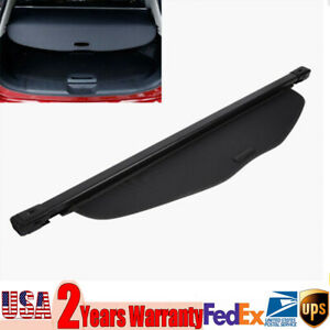 Trunk Cargo Cover Security Shield For 14 18 Nissan Rogue X trail Retractable
