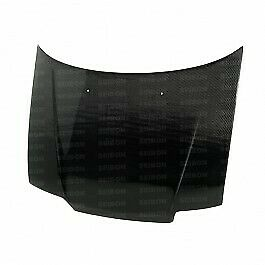 Seibon Carbon Fiber Hood For 1988 1991 Honda Civic Hb Crx
