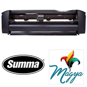 Cutting Plotter Summa 24 61 Cms Vinyl And Sign Cutting Machine W software