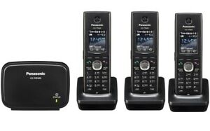Panasonic Kx tgp600 W 2 Kx tgp600 Sip Dect Cordless Phone System With 2 Handset
