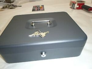 Royal Sovereign Rscb 400 Tiered Tray Steel Cash Box Perp 4bill 5coin Sections