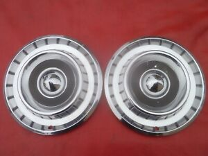 Vintage 1957 Chrysler Newport 14 Hubcaps Wheel Covers
