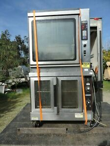 Hobart Rotisserie Convection Oven Double Stack