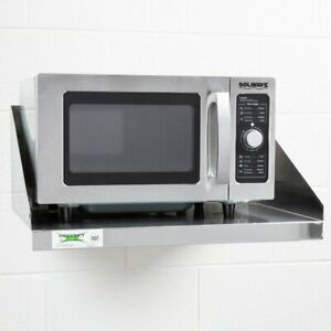 Microwave Shelf 24 X 18 Stainless Steel Commercial Restaurant Wall Mount