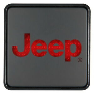 Hitch Cover Wbrake Light Jeep Towing Hitch Covers