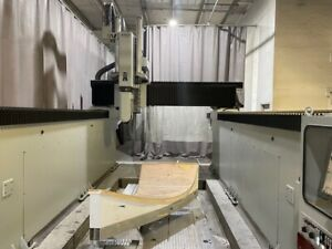 Used Anderson Mass 1540 Ip Cnc Router 2016 5 axis 181 82 47 18000 Rpm 10 Tools