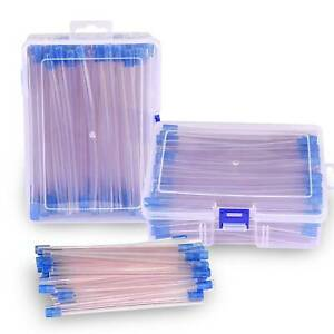 Dental Disposable Saliva Ejector Tube Clear With Blue Tip 5 100pcs Pack 500pcs