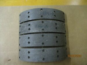 Brake Shoe Linings For 1946 1947 1948 1949 1950 1953 Dodge Plymouth 1106 A