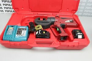 Burndy Pat750li Hydraulic Self contained 12 ton Crimping Tool