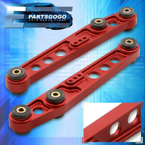 For 88 95 Honda Civic Crx Eg Ef Jdm Rear Lower Suspension Control Arm Lca Red