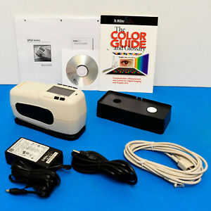X rite Sp64 Portable Sphere Spectrophotometer Lab Values 4 Print Fabric Physical