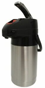 Holiday House Aps25s 2 5l Airpot Ss Finish Pump Lever Coffee Beverage Dispenser