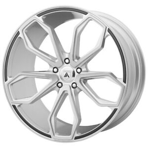 4 Asanti Abl 19 Athena 22x9 5x120 32mm Brushed Wheels Rims 22 Inch