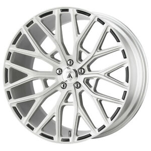 4 asanti Abl 21 Leo 22x9 5x4 5 32mm Brushed Wheels Rims 22 Inch