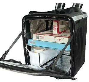 Pk 76f Doubledeck Insulated Pizza food Delivery Backpack Bag 16 x 15 x 18
