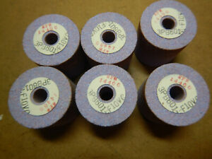 6 New Old Stock Small Purple Grinding Lathe Tool Post Grinder Wheels