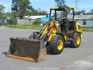 2014 Jcb 407b Wheel Loader Tractor Tool Carrier Front End Loader Aux Hyd Repair