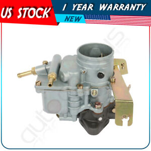 Carburetor 1barrel Downdraft Universal For Jeep Willys Cj3b Cj5 Cj6 17701 01