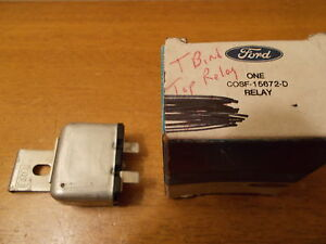 1960 Ford Tbird T bird Thunderbird Fomoco Nos Convertible Top Relay C0sf 15672 d