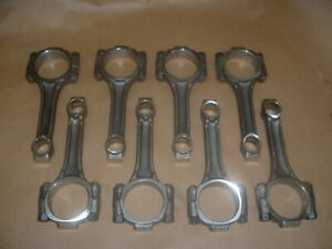 Chevy Small Block Stock X Connecting Rods Set Of 8