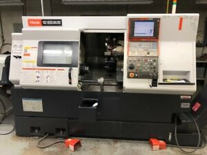 Used Mazak Qtn200 iims Cnc Lathe 2008 Matrix 2 6 Bar Live Tooling Sub Spindle