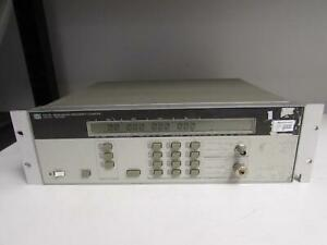 Agilent Hp 5351b Microwave Frequency Counter 26 5ghz Opt 006