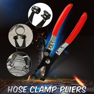 Hose Clamp Pliers Set Flat Band Hose Clamp Plier Cross Slotted Jaw Pliers