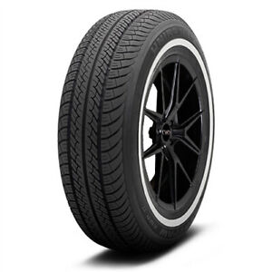 4 new P205 75r14 Uniroyal Tiger Paw Awp Ii 95s White Wall Tires