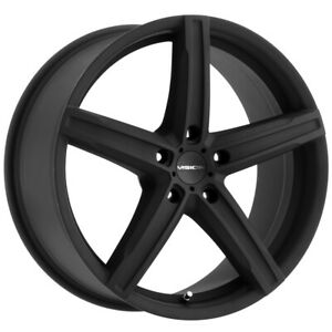 4 Vision 469 Boost 15x6 5 5x100 38mm Satin Black Wheels Rims 15 Inch
