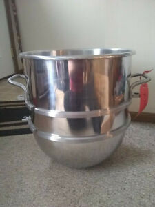 Hobart 30 Qt Quart Stainless Steel Commercial Mixer Mixing Bowl D 30 Clean