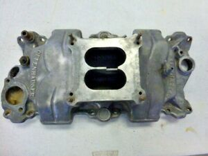 Vintage Offenhauser 360 Small Block Chevrolet High Rise Intake Manifold