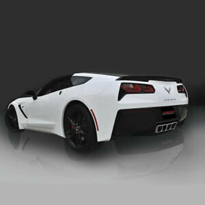 Corsa 14763 Xtreme Sound Valve back Exhaust With Polished Tip 2014 Corvette C7