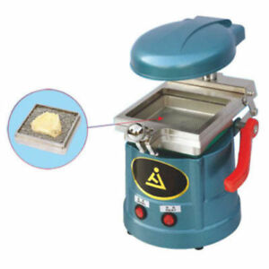 Dental Lab Vacuum Motor Forming Molding Machine 600w Heating Thermoforming New