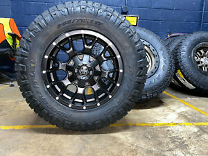 17x9 Mayhem Warrior Wheels 32 Nitto Ridge At Tires 6x135 Ford F150 Expedition