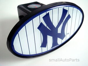 New York Yankees Mlb Tow Hitch Cover Car Truck Suv Trailer 2 Receiver Plug Cap