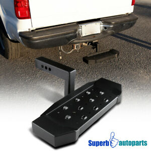 2 Receiver Aluminum Rear Tow Tailgate Hitch Step Bar Protection Guard W 6 Drop