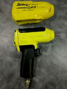 Snap On Tools Mg325 3 8 Drive Air Impact Wrench With Protective Cover Nice