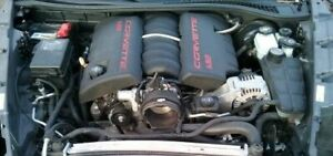 2008 Chevrolet Corvette C6 Ls3 6 2 Liter Engine 430hp 39k Good Used