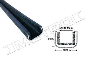 Flexible Window Channel Fits 1950 1963 Chevrolet And Gmc Full Size Pick up Truck