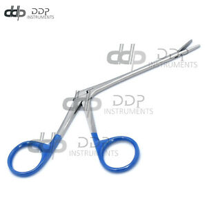Hartman Micro Alligator Forceps 3 5 Blue Ring Serrated Ent Instruments Ds 1318
