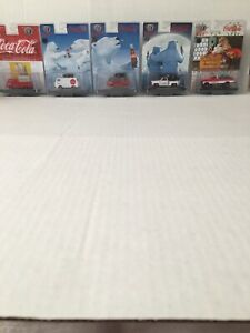 M2 Machines Coca Cola Christmas Raw Chase Lot Of 5 250 1964 Dodge Panel Van
