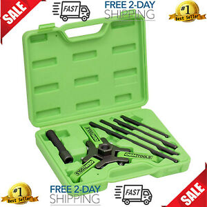 Harmonic Balancer Puller Gm Ls Motor Engine Auto Workshop Kit Mechanic Tool Box