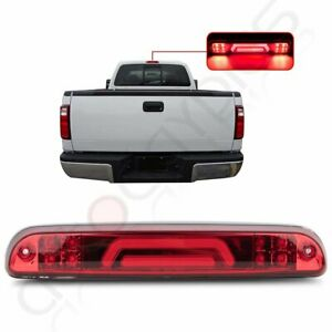 For 99 16 Ford Super Duty 3d Led Red Third 3rd Tail Brake Light W Cargo Lamp