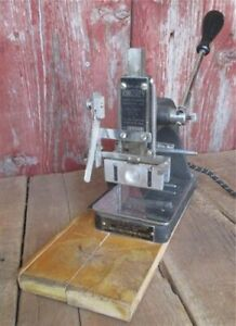 Kingsley Gold Stamping Machine Vintage Embossing Machine Hot Foil Stamping C