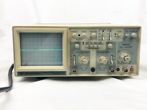 Bk Precision 20 Mhz Model 2120 Dual Trace Oscilloscope Tested With Power Cord