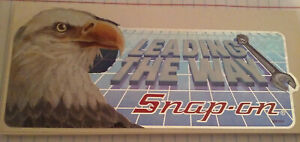 Vintage Snap On Tools Leading The Way Bald Eagle Sticker