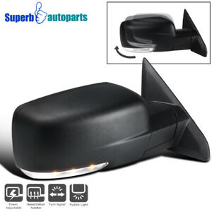 For 2013 2019 Ram 1500 Right Side Mirror W Power Heated Signal Puddle Light