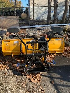 Pre Owned Snow Plow Amazing Conditions Mount And Wires Included