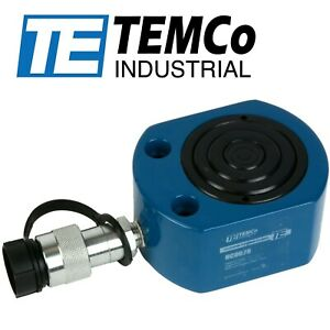 Temco Hc0028 Telescoping Hydraulic Cylinder Tons 30 9 13 7 5 Stroke 47 87
