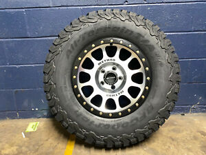 17x8 5 Method Mr305 Nv Wheels 285 70r17 Bfg Ko2 Tires 8x6 5 Dodge Ram 2500 3500